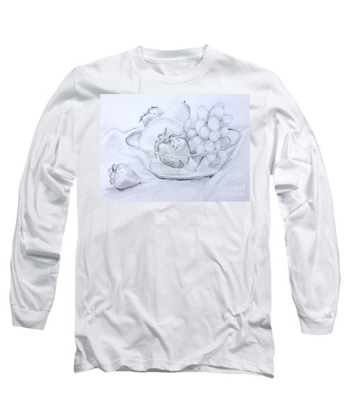 Still Life With Fruit Long Sleeve T-Shirt
