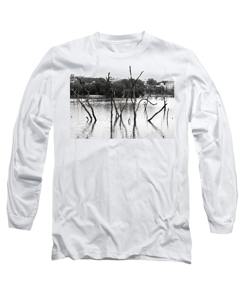 Stomps Of Trees In A Lake Long Sleeve T-Shirt