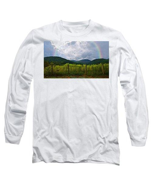 Storm Breaking Long Sleeve T-Shirt by Susan Leggett