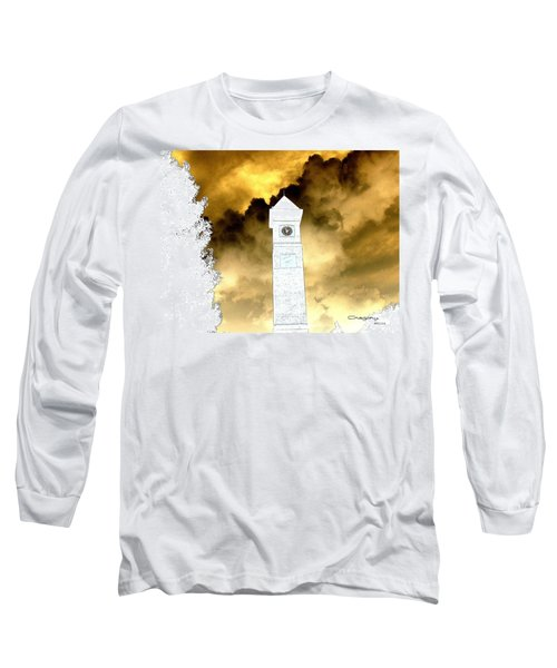 Long Sleeve T-Shirt featuring the photograph Storm Clouds by Greg Moores