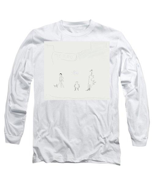 Street Apparition Long Sleeve T-Shirt