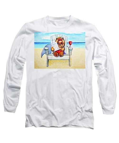 Sudoku At The Beach Long Sleeve T-Shirt