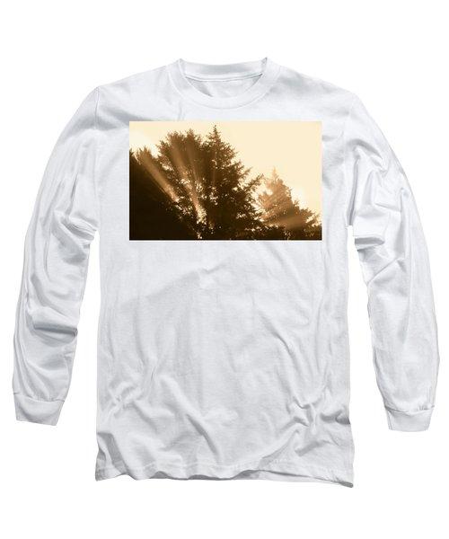 Sunrise In Sepia Long Sleeve T-Shirt