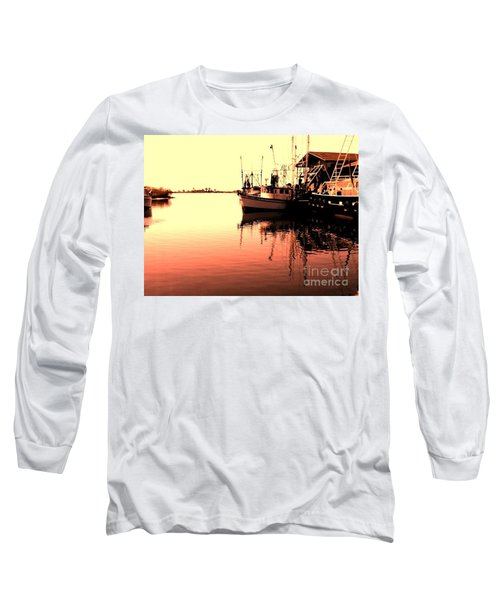 Long Sleeve T-Shirt featuring the photograph Sunset by Janice Spivey