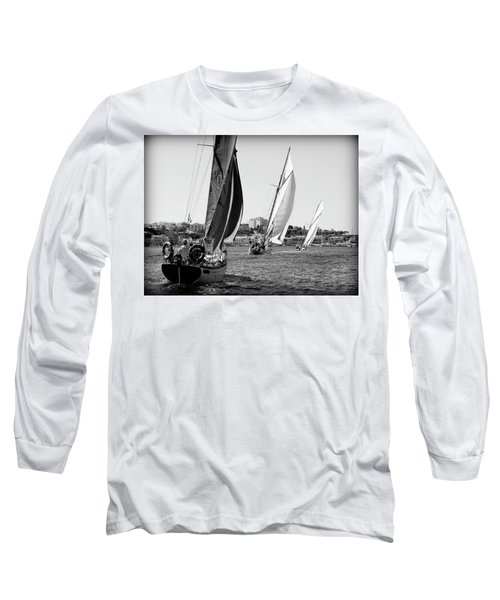 Long Sleeve T-Shirt featuring the photograph Tall Ship Races 2 by Pedro Cardona