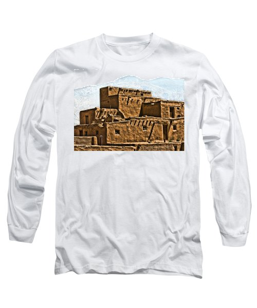 Taos Pueblo Long Sleeve T-Shirt