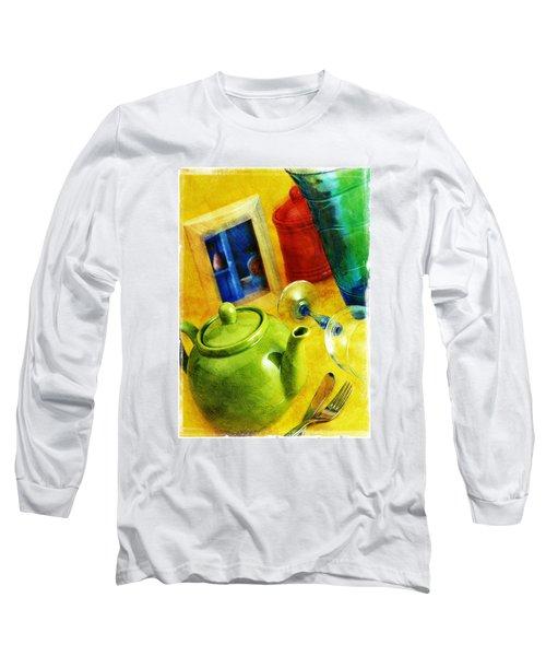 Tea Pot Long Sleeve T-Shirt