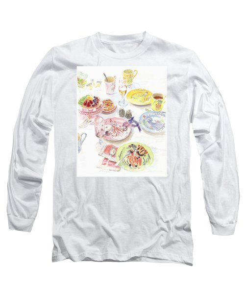 Thats Amore Long Sleeve T-Shirt by Beth Saffer