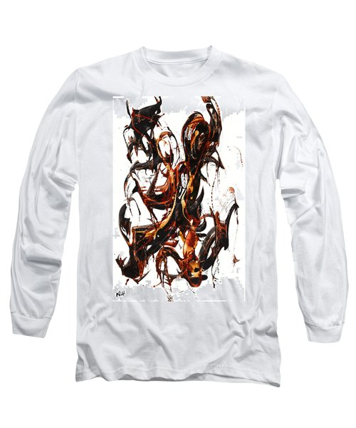 The Art Of Languishing Liquidly Well  22.120110 Long Sleeve T-Shirt by Kris Haas
