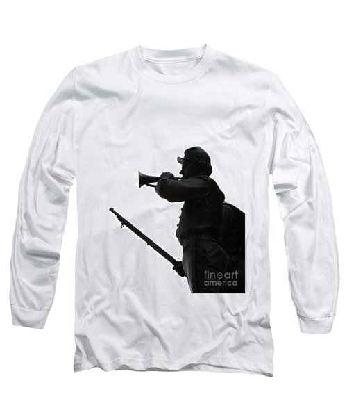 The Bugler Long Sleeve T-Shirt by Cindy Manero