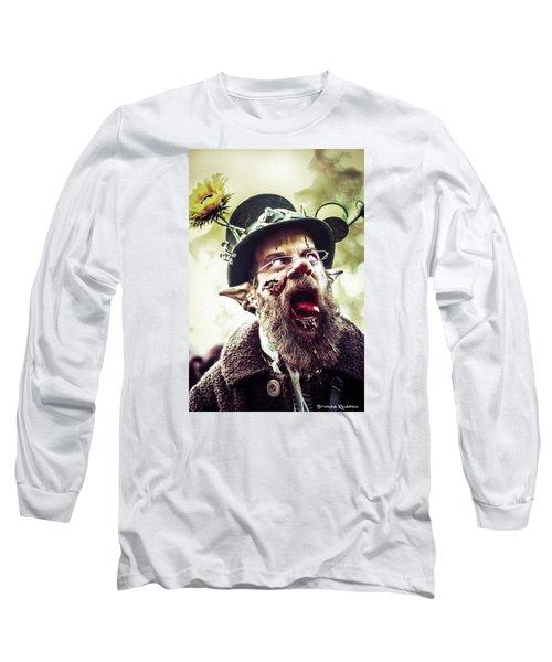Long Sleeve T-Shirt featuring the photograph The Fool Goblin by Stwayne Keubrick