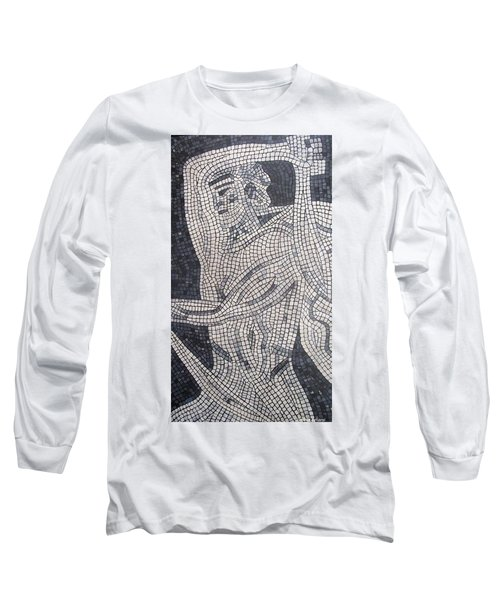 Long Sleeve T-Shirt featuring the painting The Hunter by Cynthia Amaral