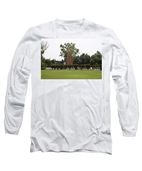Long Sleeve T-Shirt featuring the photograph The Jallianwala Bagh Memorial In Amritsar by Ashish Agarwal