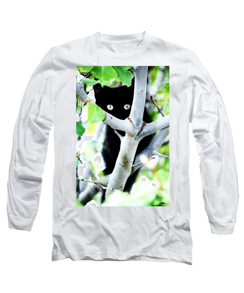 Long Sleeve T-Shirt featuring the photograph The Little Huntress by Jessica Shelton