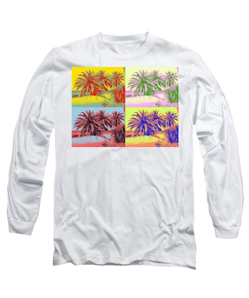 Long Sleeve T-Shirt featuring the photograph The Loop In Pop Art by Alice Gipson
