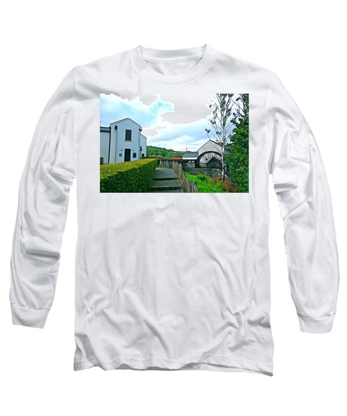 Long Sleeve T-Shirt featuring the photograph The Mill by Charlie and Norma Brock