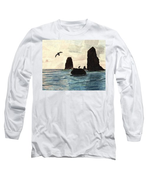 The Needles Long Sleeve T-Shirt by Wendy McKennon