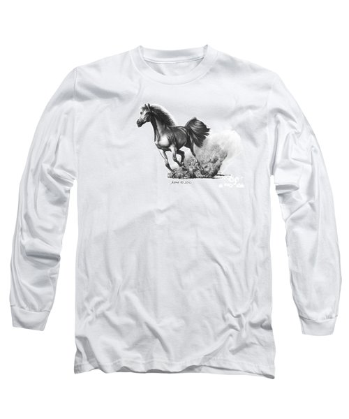 the Race is on  Long Sleeve T-Shirt