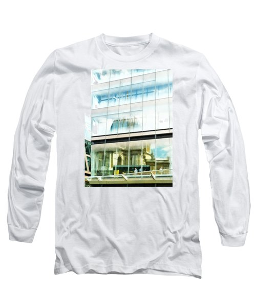 The Restaurant With A View Of St Pauls Cathedral Long Sleeve T-Shirt
