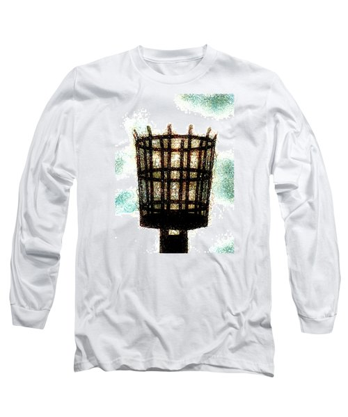 Long Sleeve T-Shirt featuring the digital art The Viking Flame  by Steve Taylor