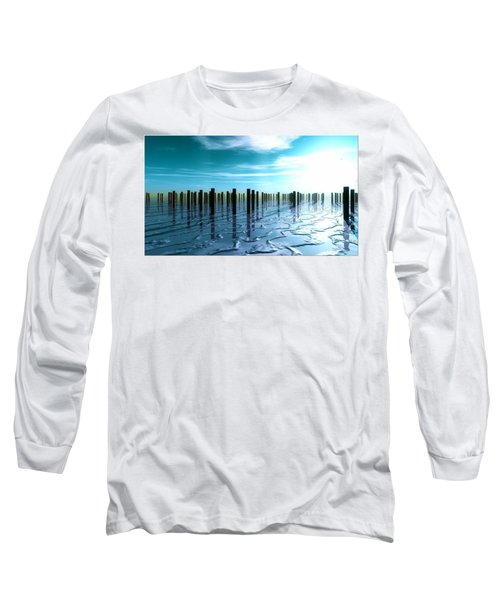 Tide Is Out... Long Sleeve T-Shirt by Tim Fillingim
