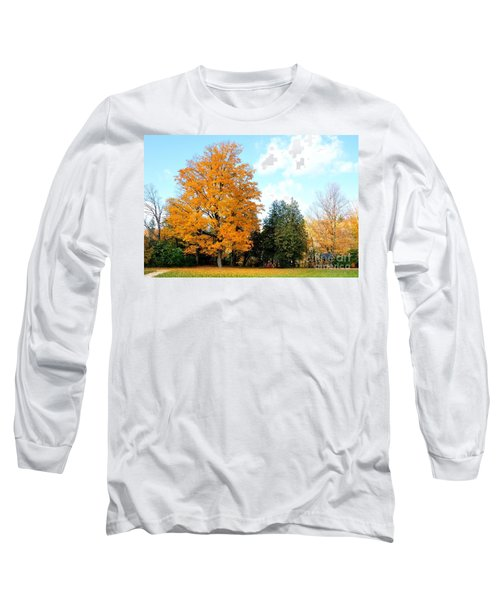 Long Sleeve T-Shirt featuring the photograph Tree Of Gold by Joe  Ng