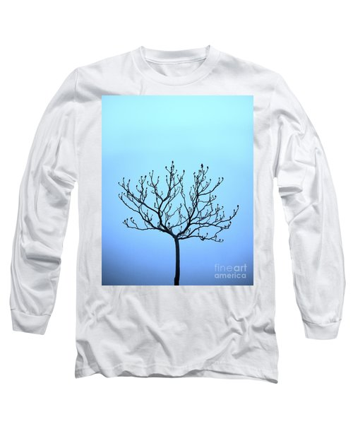Tree With The Blues Long Sleeve T-Shirt