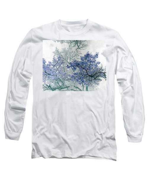 Trees Above Long Sleeve T-Shirt by Rebecca Margraf