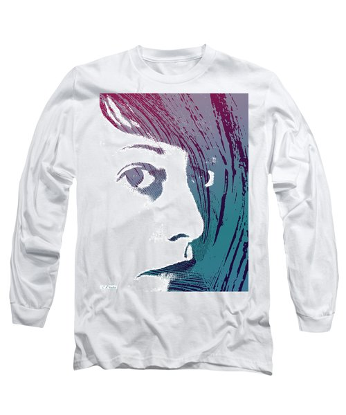 Long Sleeve T-Shirt featuring the photograph True Colors by Lauren Radke