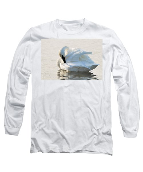 Tumpeter Swan Long Sleeve T-Shirt