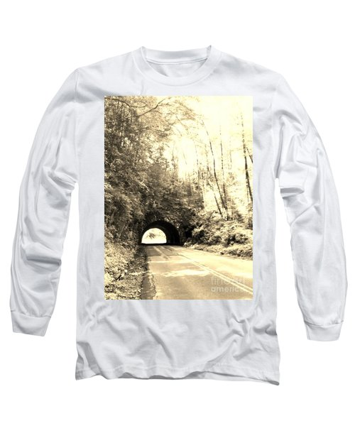 Long Sleeve T-Shirt featuring the photograph Tunnel Vision by Janice Spivey