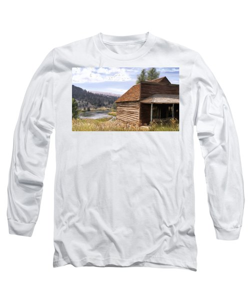 Vc Backyard Long Sleeve T-Shirt by Susan Kinney