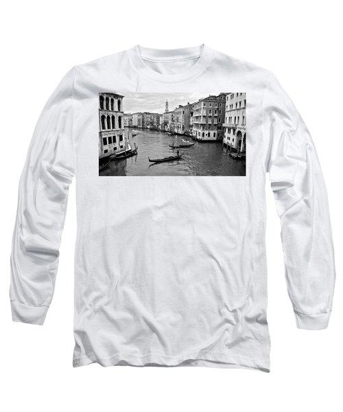 Long Sleeve T-Shirt featuring the photograph Venezia by Eric Tressler