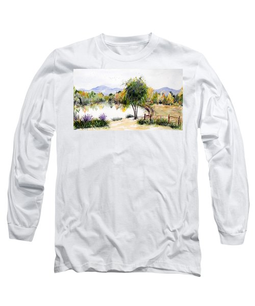 View Outside Reno Long Sleeve T-Shirt by Vicki  Housel