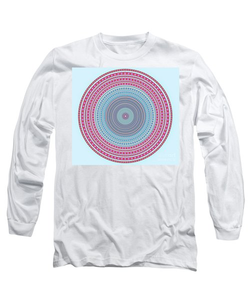 Vintage Color Circle Long Sleeve T-Shirt
