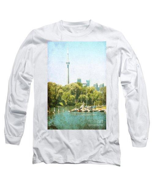 Vintage Toronto Long Sleeve T-Shirt