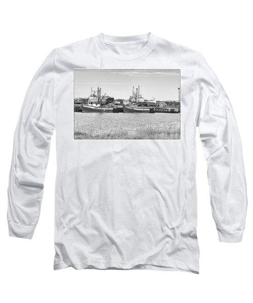 Waiting Long Sleeve T-Shirt by Eunice Gibb