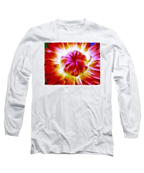 Whirling Long Sleeve T-Shirt by Judi Bagwell