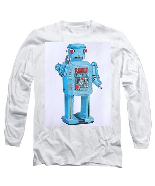 Wind-up Robot Long Sleeve T-Shirt