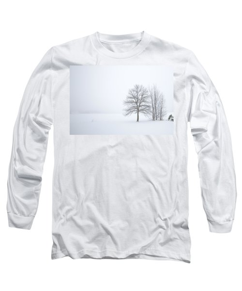 Winter Fog And Trees Long Sleeve T-Shirt