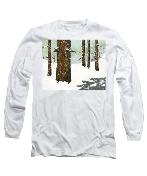 Wintering Pines Long Sleeve T-Shirt