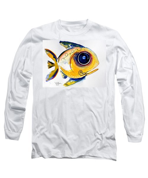 Yellow Study Fish Long Sleeve T-Shirt