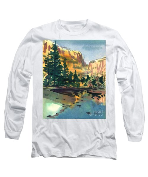 Yosemite Valley In January Long Sleeve T-Shirt
