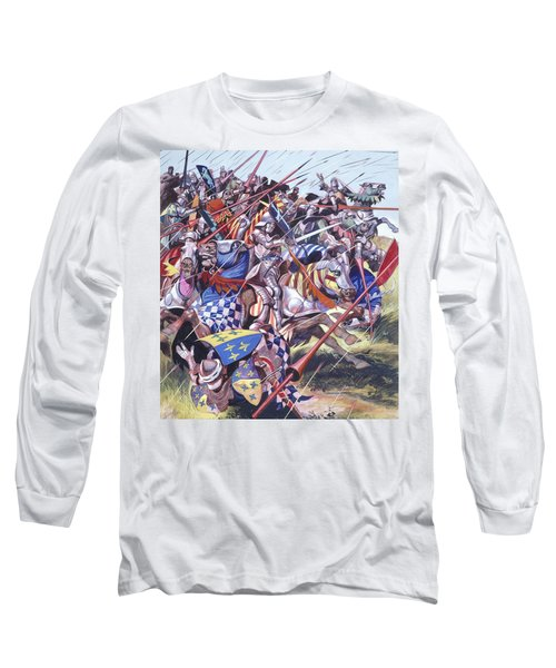 Agincourt The Impossible Victory 25 October 1415 Long Sleeve T-Shirt