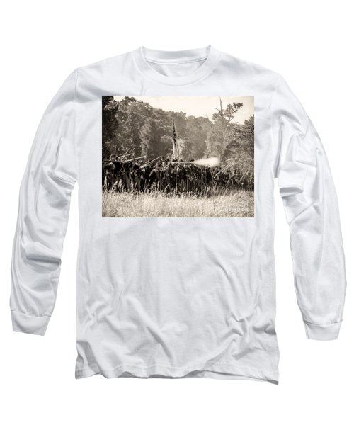 Gettysburg Union Infantry 9372s Long Sleeve T-Shirt