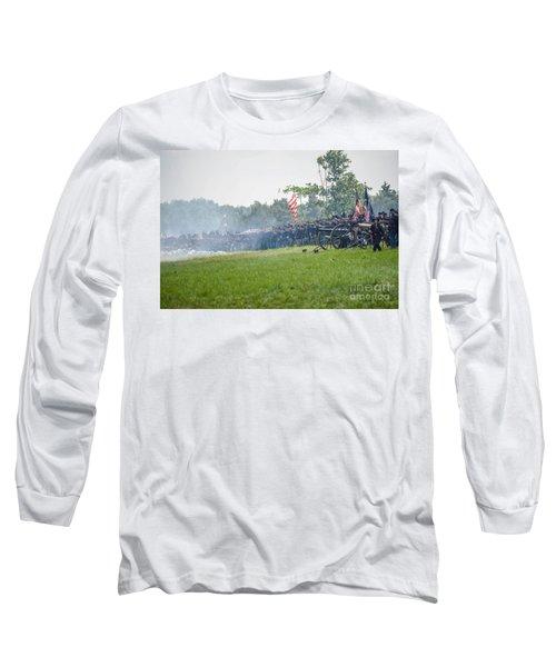 Gettysburg Union Infantry 9968c Long Sleeve T-Shirt