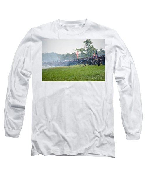 Gettysburg Union Infantry 9968c Long Sleeve T-Shirt