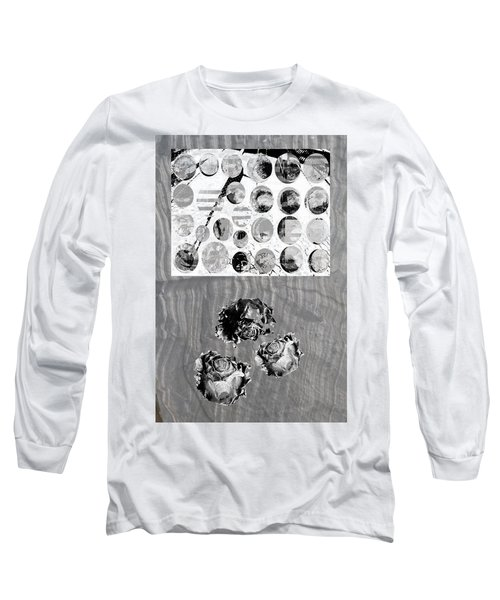 Influence On The Spiritual Atmosphere. Long Sleeve T-Shirt by Danica Radman
