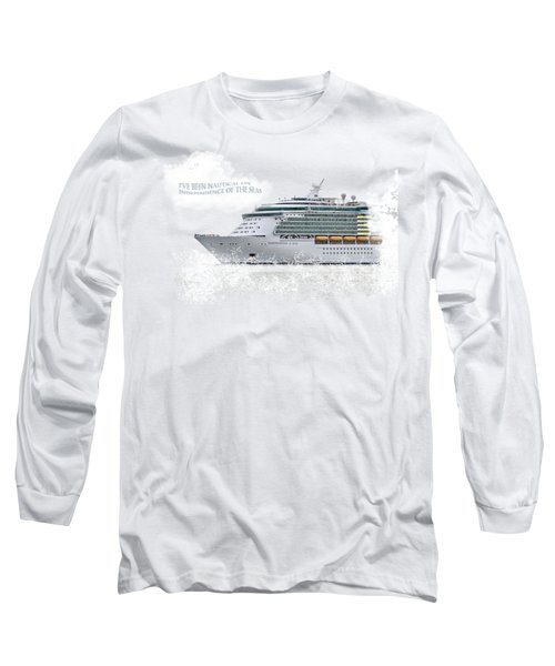 I've Been Nauticle On Independence Of The Seas On Transparent Background Long Sleeve T-Shirt