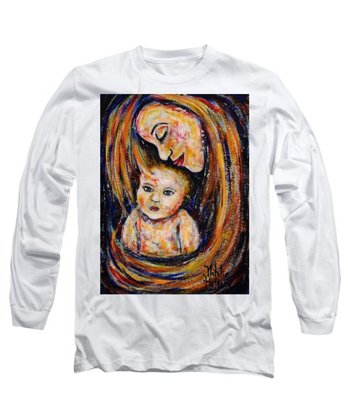 Mother's Love Long Sleeve T-Shirt by Natalie Holland
